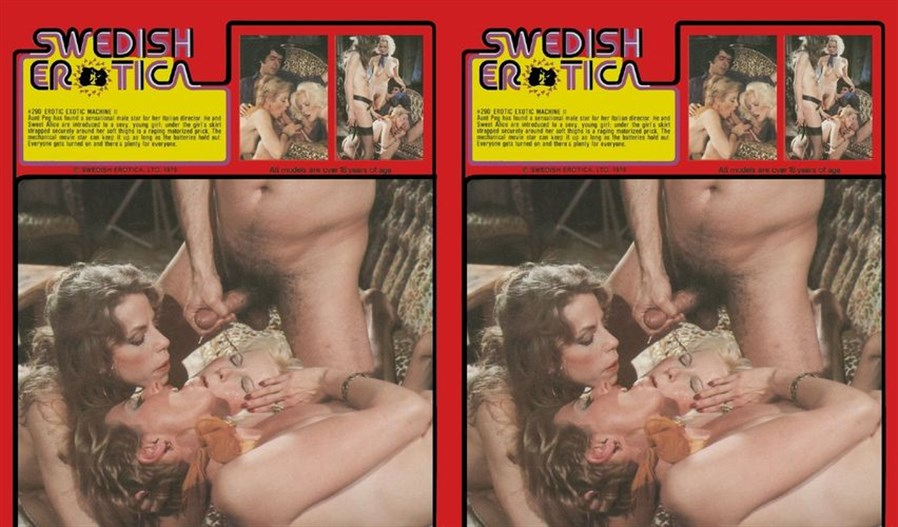 Swedish Erotica 290: Erotic Exotic Machine II (1970's)