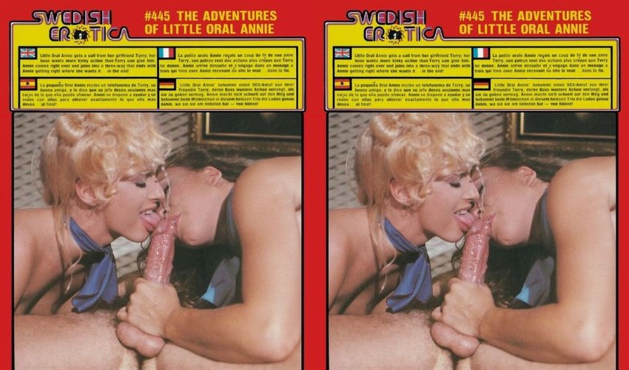 Swedish Erotica 445: The Adventures of Little Oral Annie (Another Version) (1980's)