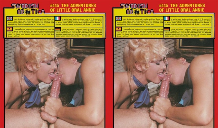 Swedish Erotica 445: The Adventures of Little Oral Annie (1980's)
